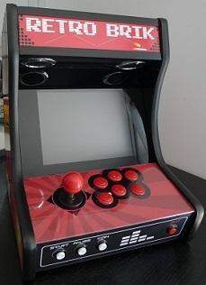 borne arcade logiciel